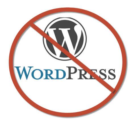 Disadvantages of A WordPress Website